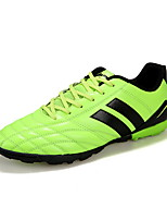 Soccer Shoes Anti-Slip Anti-Shake/Damping Wearproof Breathable Outdoor Low-Top PVC Leather Soccer/Football