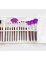 16 Makeup Brushes Set Goat Hair Full Coverage / Portable Wood Face / Eye / Lip Others