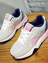 Синий / Розовый / Серый-Женский-На каждый день-ТюльУдобная обувь-Кеды
