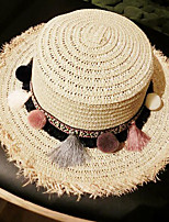 Women Straw Sun Hat,Casual Spring / Summer / Fall / Winter