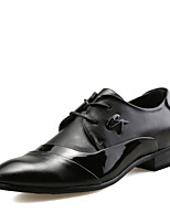 Men's Fashion Wedding Shoes Comfort Oxfords Leather Shoes For Business Low Heel Lace-up EU38-42