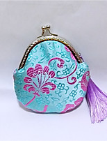 Casual / Shopping-Coin Purse-Silk-Women