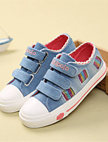 Boy's Sneakers Spring Fall Comfort Canvas Casual Blue Fuchsia