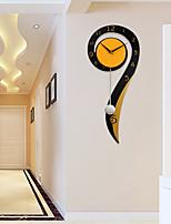Модерн Домики Настенные часы,Прочее Металл / Дерево 26*60cm В помещении Часы