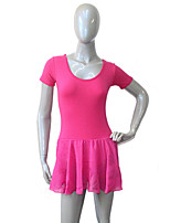 Cotton/Lycra Ballet Leotard with Chiffon Skirts with Butterfly Back Dancewear More Colors for Girls and Ladies