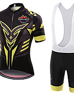 WOLFKEI Summer Cycling Jersey Short Sleeves BIB Shorts Ropa Ciclismo Cycling Clothing Suits #13