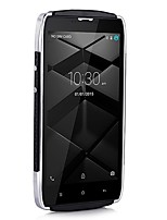 UHANS U200 5.0  Android 5.1 4G Smartphone (Dual SIM Quad Core 8 MP 2GB  16 GB Black) Leather Back-Cover