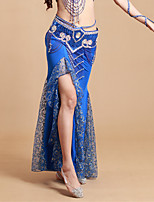 Tutus & JupesElasthanne / PolyesterFemme Plissé Spectacle Danse du ventre Taille moyenne
