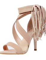 Women's Sandals Summer Others  Party & Evening / Dress / Casual Stiletto Heel Tassel Almond