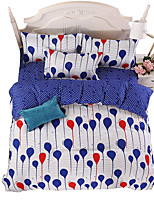 Mingjie Wonderful Blue and White Bedding Sets 4PCS for Twin Full Queen King Size from China Contian 1 Duvet Cover 1 Flatsheet 2 Pillowcases