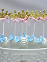 Gold Crown  Cake Top
