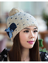 Damen Beanie - Freizeit Strickware Herbst / Winter