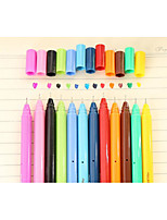 12 plume de couleur neutre couleur pen0.5mm (12pcs)