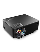 T20 1500 Lumens LED Video Projector Free HDMI LCD Mini Projector Multimedia Home Theater Projector 150 Support 1080P HDMI VGA AV USB for Home Cine