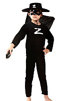Halloween Costumes For Children'S Zorro Suit Performance Clothing