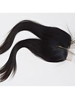 Pancy Hair 7A Bleached Knots Lace Closure Straight Closure Best Virgin Brazilian closures Free/2/3Part Closure