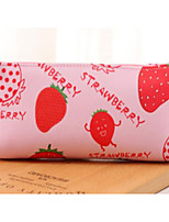 Creative Fruit Family Pu Pen Bag