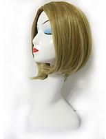 de alta qualidade encantadora onda peruca curta Roese perucas sintéticas resistentes ao calor líquido para as mulheres cap livre