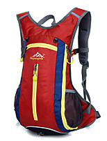 Unisex Nylon Sports / Outdoor Backpack Blue / Green / Orange / Red / Black