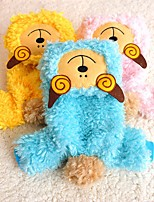 Cat / Dog Costume / Clothes/Jumpsuit Yellow / Blue / Pink Dog Clothes Winter / Spring/Fall Animal Cute / Cosplay