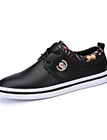 Fashion Leather Shoes For Men Casual Walking Shoes Breathable Flat Heel Black / Blue / Brown EU39-43