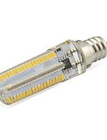 7W E12 Ampoules Maïs LED Tube 152 SMD 3014 580 lm Blanc Chaud / Blanc Froid Décorative V 1 pièce