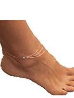 женский золотой сплав ножной ювелирных изделий 1шт