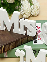 Creative Wooden Letter Furnishing Articles Wedding Props MrS & Mr
