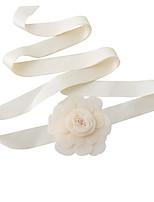 Sateng Bryllup / Fest/aften / Hverdag Sash-Blomster Dame 98.5 tommer (ca. 250cm) Blomster