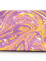 Purple and Yellow Gorgeous Stone Pattern MacBook Computer Case For MacBook Air11/13 Pro13/15 Pro with Retina13/15 MacBook12