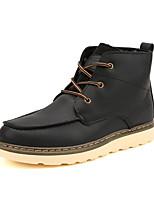 Men's Fashion Tooling Boots Combat Boots High Top Shoes Casual Short Boots Flat Heel EU39-43