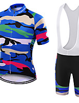 WOLFKEI Summer Cycling Jersey Short Sleeves BIB Shorts Ropa Ciclismo Cycling Clothing Suits #16