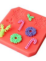 1 Silikon pečicí formy pro Cake / pro Ice / pro Chocolate / pro chléb / pro Cookie / pro Cupcake / pro Pie / pro Pizza / OtherVysoká