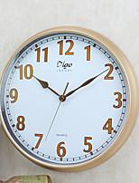 Retro Família Relógio de parede,Redonda Plástico 15 inch Interior Relógio