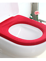 Winter Toilet Seat Warmer Toilet Seat Cover Soft Comfortable Baby Potty Seat Overcoat Toilet Case(Random Color)