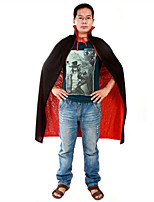 Halloween Costume Dress Black Red Double-Sided Vampire Cloak Death Devil Devil Cloak