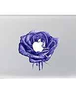 Purple Rose Decorative Skin Sticker for MacBook Air/Pro/Pro with Retina