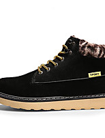 Men's Boots Spring Fall Winter Others Fleece Outdoor Casual Lace-up Black Blue Yellow Others