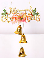 1Pcs 2Colour Christmas Decoration Gifts Role Ofing Christmas Tree Ornaments Christmas Gift Hang ActThe Role Of Bell