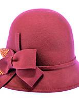 Women Wool Bowler/Cloche Hat,Casual Fall / Winter