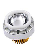 faróis motocicleta olho demônio levou a laser condensador de arma carro ultra-brilhante elétrica do diodo emissor embutido 12-85v lâmpada