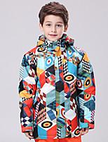 GSOU NEIGE® Tenue de Ski Anorak pour Ski/snowboard Enfant Tenue d'Hiver Polyester Vêtement d'HiverEtanche / Respirable / Garder au chaud