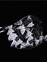 prise étanche en plein air vacances décoration de Noël lumière lumière des étoiles 3m 40 conduit a mené la lumière de chaîne