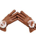 épaissies des gants à écran tactile (g27 brun)