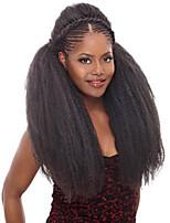 Senegal Box Zöpfe Gehäkelt Havanna Afro verworren Zöpfe Haarverlängerungen Kanekalon Haar Borten