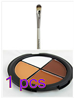 ТениКисти для макияжа влажный Глаза Цветной глянец / Стойкий China Others