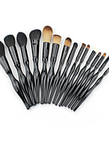 SPK 15Pcs Makeup Brush  Body Curve Foundation Makeup Beauty Makeup Tools