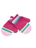 (Note - cinq conception emballé et couleur) enfants ms qiu dong étudiants saison mâle lapin couleur de laine gants de bande