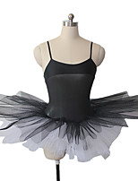 Ballet Tutus & Skirts Women's / Children's Performance Nylon / Tulle / Lycra 1 Piece Sleeveless Dress