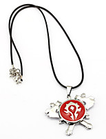 Inspired by WOW Anime Cosplay Accessories Necklace Red Alloy